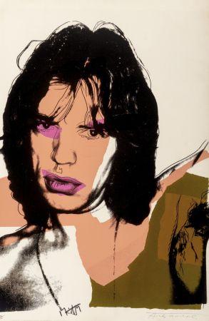 Serigrafía Warhol - Mick Jagger #141