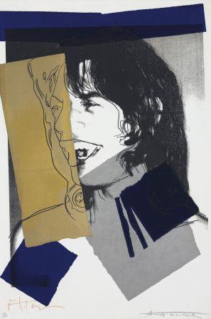 Serigrafía Warhol - Mick Jagger #142