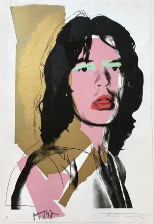 Serigrafía Warhol - Mick Jagger #143