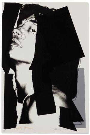 Serigrafía Warhol - Mick Jagger #144