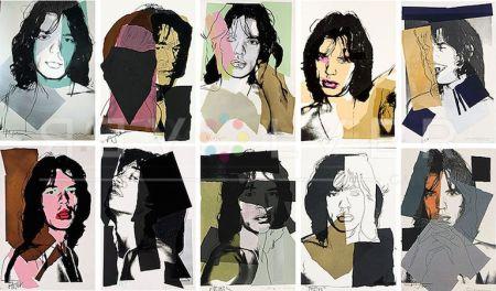 Serigrafía Warhol - Mick Jagger Complete Portfolio