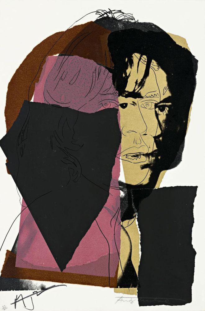 Serigrafía Warhol - Mick Jagger (FS II.139)