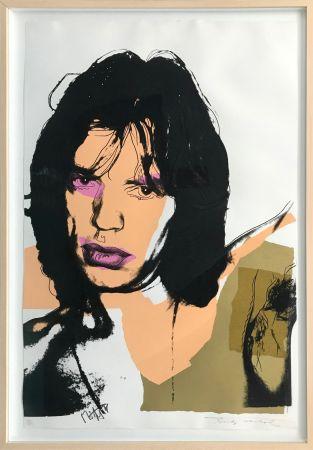 Serigrafía Warhol - MICK JAGGER FS II.141