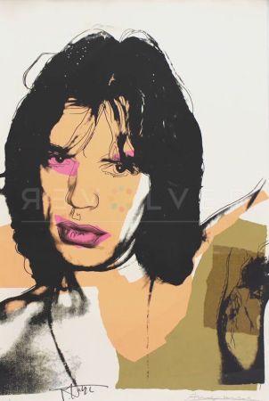 Serigrafía Warhol - Mick Jagger (FS II.141)