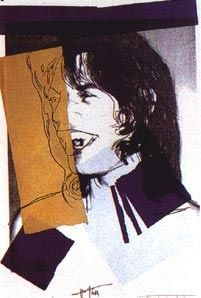 Serigrafía Warhol - Mick Jagger FS II.142