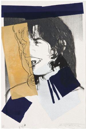 Serigrafía Warhol - Mick Jagger (FS II.142)