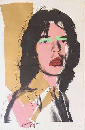 Serigrafía Warhol - Mick Jagger (FS II.143)