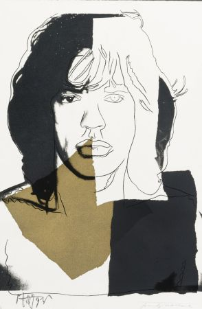 Serigrafía Warhol - Mick Jagger (FS II.146)