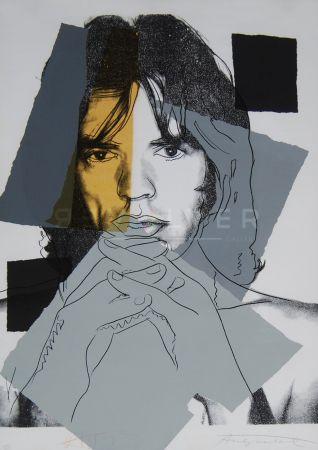 Serigrafía Warhol - Mick Jagger (Fs Ii.147)