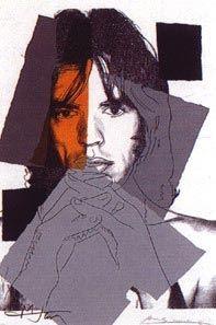 Serigrafía Warhol - Mick Jagger II.147
