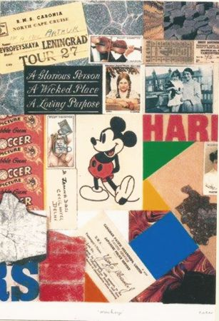 Serigrafía Blake - Mickey