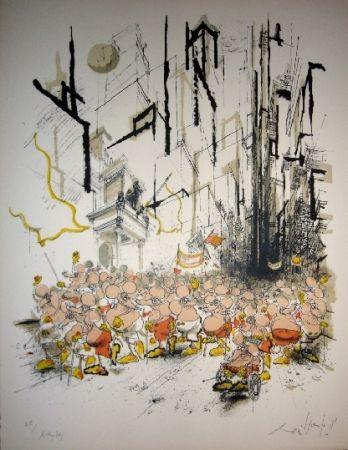 Litografía Searle - Mickey Day