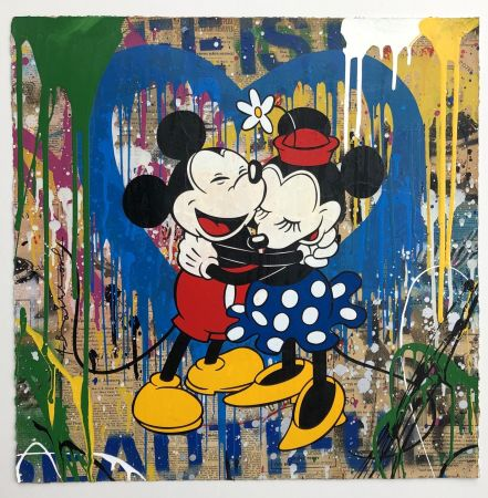 Múltiple Mr Brainwash - Mickey & Minnie