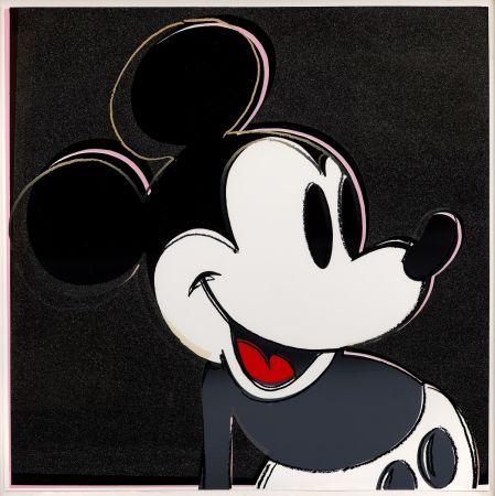 Serigrafía Warhol - Mickey Mouse (FS II.265)