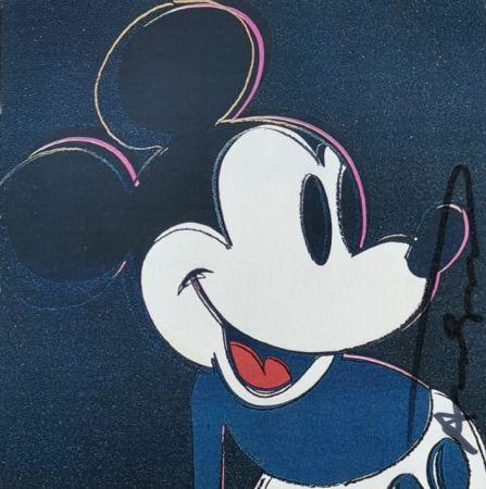 Serigrafía Warhol - Mickey Mouse
