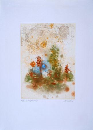 Aguafuerte Walker - Midi flowers II