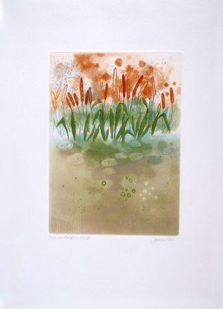 Aguafuerte Walker - Midi flowers III