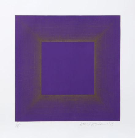 Aguatinta Anuszkiewicz - Midnight Suite (Purple with Silver)