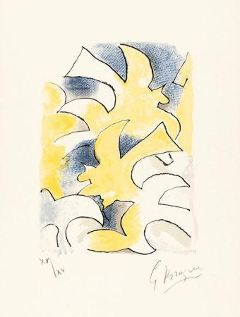 Litografía Braque - Migration
