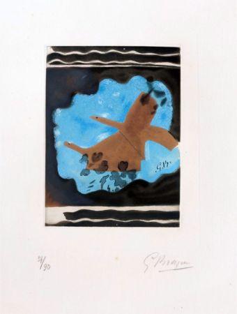 Aguafuerte Braque - Migration