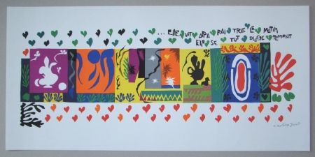 Litografía Matisse - Mille et une Nuits, 1950