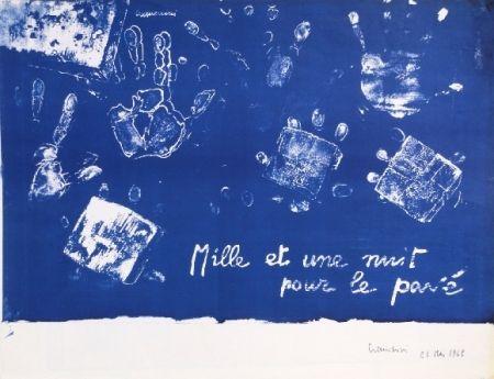 Litografía Cremonini - Mille et une nuits pour le pavé