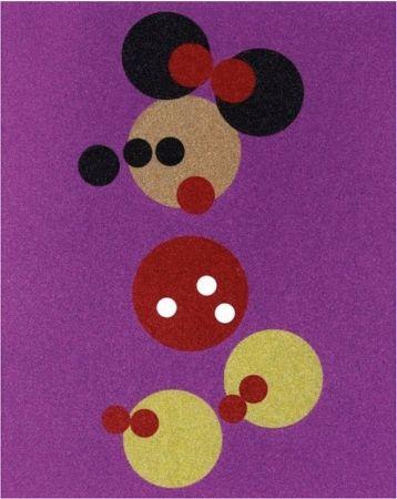 Serigrafía Hirst - Minnie Mouse Glitter Print by Damien Hirst