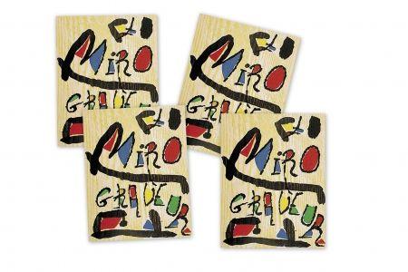 Libro Ilustrado Miró - MIRÓ GRABADOR - 4 VOL. (1928 - 1983) Catalogue raisonné engravings of Joan Miró