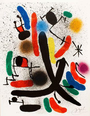 Litografía Miró -  Miró lithographe I (Maeght 855)