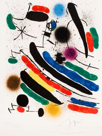 Sin Técnico Miró - Miró lithographe I (Maeght 856)