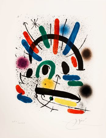 Sin Técnico Miró - Miró lithographe I (Maeght 858)
