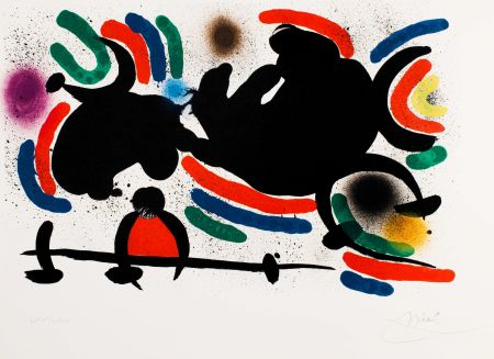 Sin Técnico Miró -  Miró lithographe I (Maeght 860)