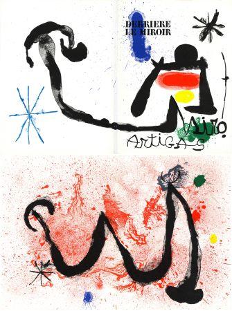 Litografía Miró - MIRO - ARTIGAS, Terres de grand feu. Derrière le Miroir n° 139-140. Juin-Juillet 1963.