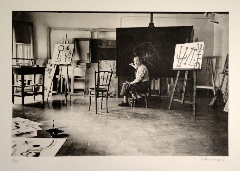 Fotografía Scheidegger - Miro im Atelier