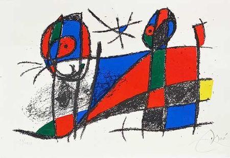 Litografía Miró - Miro lithographe