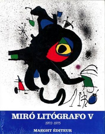 Libro Ilustrado Miró - MIRO LITHOGRAPHE V