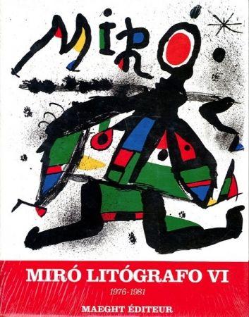 Libro Ilustrado Miró - MIRO LITHOGRAPHE VI