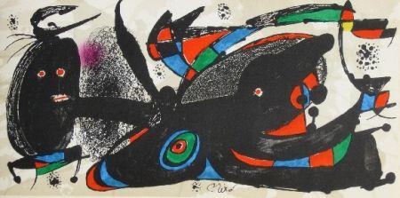 Litografía Miró - Miro sculpteur, angleterre