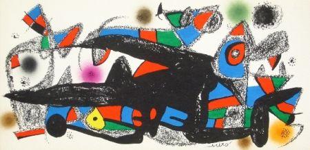 Litografía Miró - Miro sculpteur, Danemark