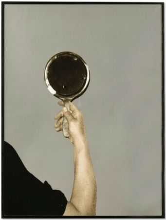Serigrafía Pistoletto - Mirror