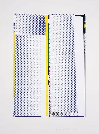 Serigrafía Lichtenstein - Mirror #9