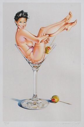 Litografía Ramos - Miss Martini Ii