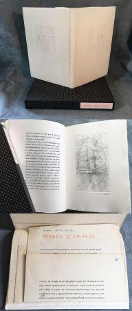 Libro Ilustrado Bellmer - MODE D'EMPLOI. 1967. (Exemplaire unique).