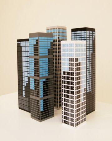 Grabado En Madera Opie - Modern Towers