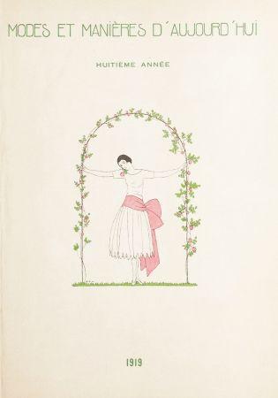 Libro Ilustrado Marty - MODES ET MANIÈRES D'AUJOURD' HUI. Huitième Année. 1919