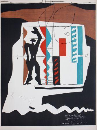 Litografía Le Corbusier - Modulor
