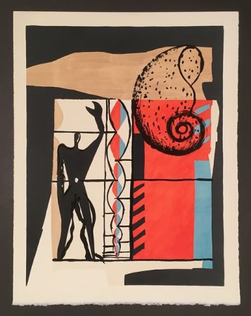 Litografía Le Corbusier - Modulor (1955)