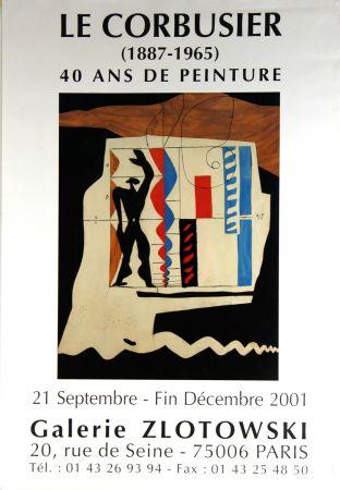 Offset Le Corbusier - Modulor  Galerie  Zlotowski