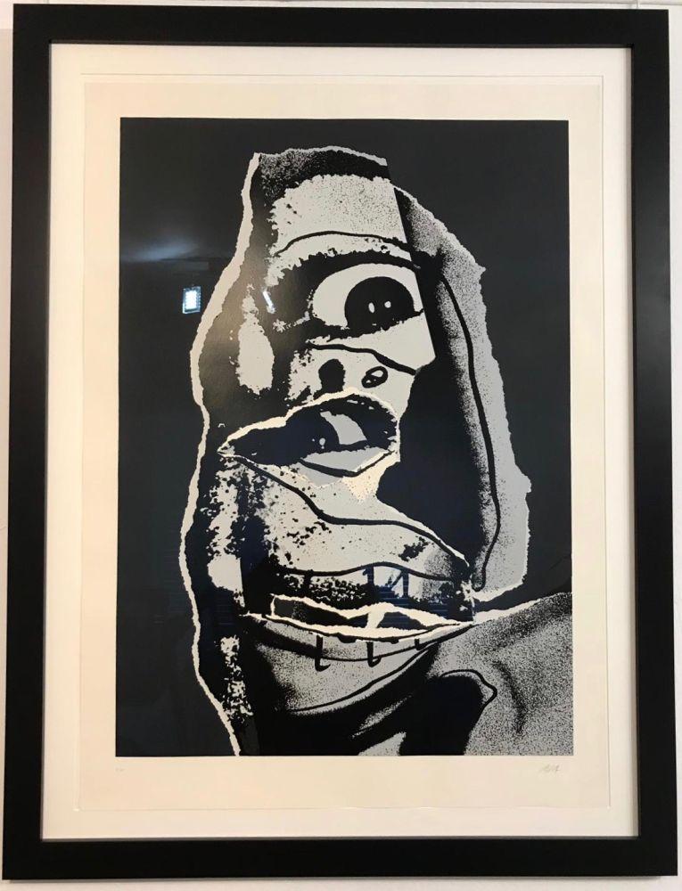Litografía Saura - Moi