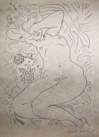 Litografía Matisse - Moments de timidité 45X60 CAHIERS D'ART